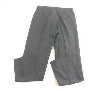 Kenneth Cole Men's Gray Dress Pants 34